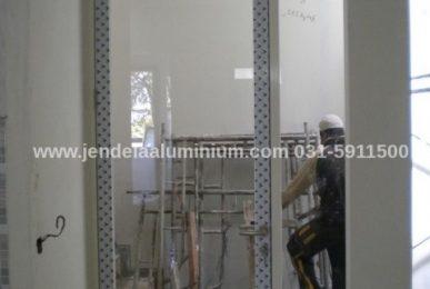 pintu aluminium rumah surabaya sidoarjo