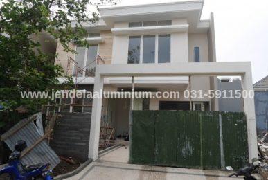 aluminium dan kaca rumah surabaya timur
