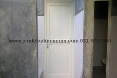 jual pintu panel aluminium