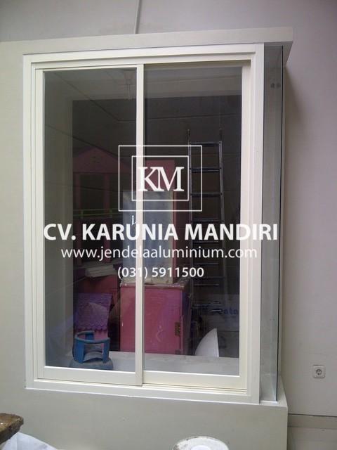 jendela sliding kaca aluminium surabaya selatan