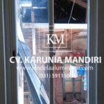jendela sliding aluminium kaca surabaya