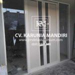 kontraktor pintu aluminium kaca surabaya