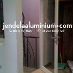 pintu aluminium cream surabaya