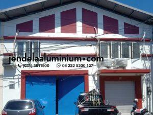 aluminium gudang central square sidoarjo